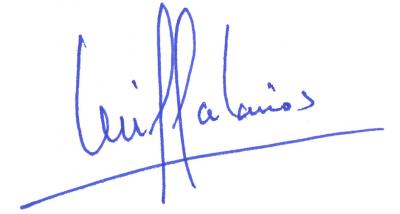 Firma Secretario General de CEA